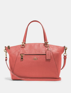 Coach Prairie Satchel Bag 79997 In Bright Coral