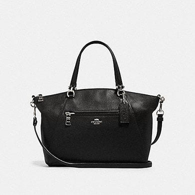 Coach Prairie Satchel Bag F79997 In Black