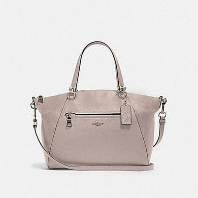Coach Prairie 79997 Satchel Bag In Grey Birch