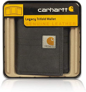 Carhatt Legacy Trifold Wallet In Black