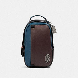 Coach Edge Pack Backpack 89911 In Oxblood Aegean Multi