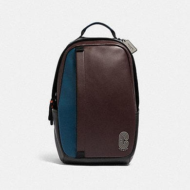 Coach Edge Backpack 89924 In Colorblock