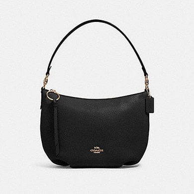 Coach Small Skylar Hobo Shoulder Bag 91028 In Black
