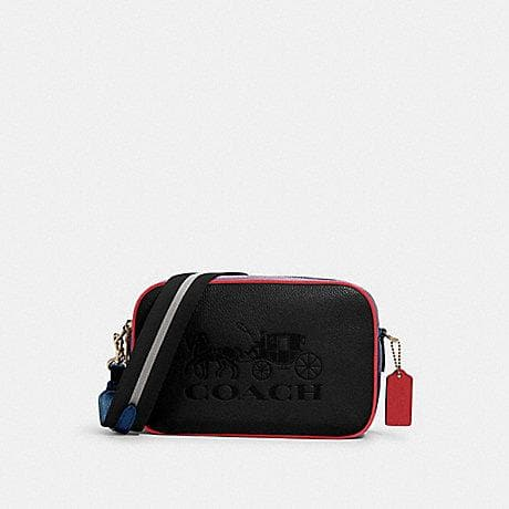 COACH COLORBLOCK JES CROSSBODY BAG 91082 IN BLACK MULTI