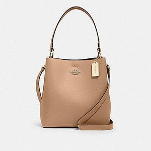Coach Town 91122 Bucket Bag In Taupe