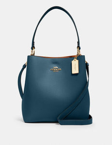 Coach Town 91122 Bucket Bag In Peacock