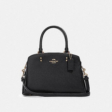 Coach Mini Lillie Carryall Bag 91146 In Black