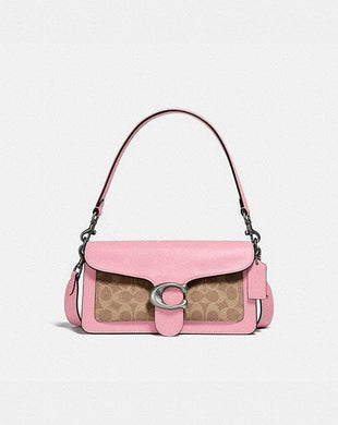 Coach Signature Tabby 91215 Shoulder Bag In Powder Pink