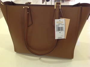Michael Kors Kimberly 3 in 1 Leather Bag (Luggage)