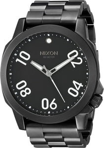 NIXON Ranger 45 All Black Watch A521001-00