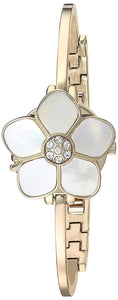 Anne Klein Mother of Pearl Dial Watch AK-3174GBST