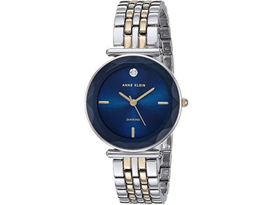 (PREORDER) Anne Klein Two-Tone Bracelet Watch AK-3413NVTT