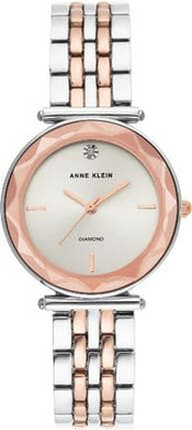 (PREORDER) Anne Klein Two-Tone Bracelet Watch AK-3413SVRT