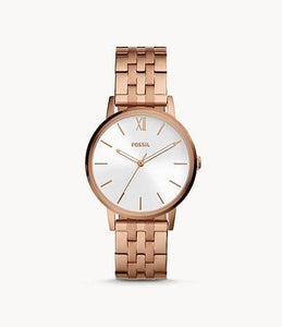 Fossil Cambry Three-Hand BQ3513 Rose Gold-Tone Stainless Steel Watch