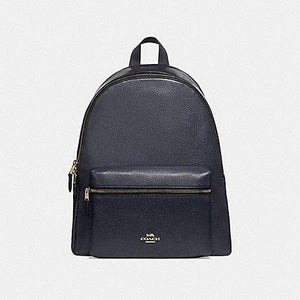 COACH CHARLIE BACKPACK F29004 (MIDNIGHT/LIGHT GOLD)