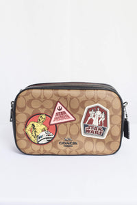 Signature Star Wars Patches Jes Crossbody Bag F88010 In Khaki