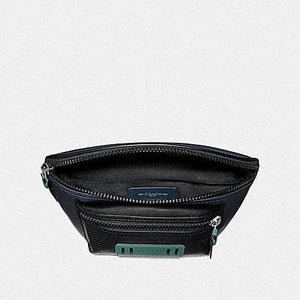 COACH TERRAIN BELT BAG F72936 (MIDNIGHT NAVY/BLACK ANTIQUE NICKEL)