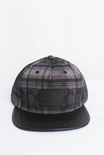 Load image into Gallery viewer, Coach Signature With Plaid Print F78492 PC1 Flat Brim Hat