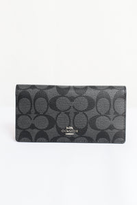Coach Signature Canvas F88026 SVDK6 Bifold Wallet