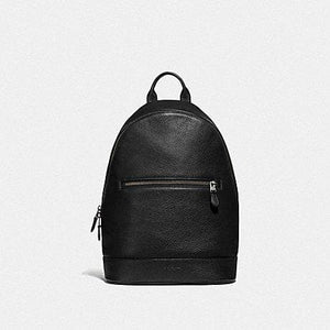 Coach West Slim Backpack F72510 (Black/Black Antique Nickel)
