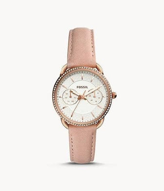 Fossil Tailor Multifunction Blush Leather Watch ES4393