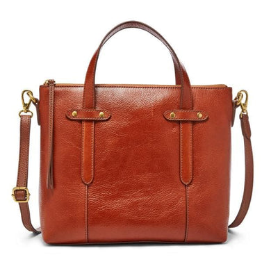 FELICITY SATCHEL MEDIUM BROWN