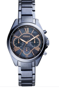 FOSSIL WATCH MODERN COURIER CHRONOGRAPH STEEL BLUE STAINLESS (BQ3386)