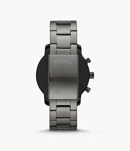 Fossil Men's Gen 4 Set Explorist HR BQT4000SET In Smoke Accented Tone