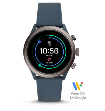 Fossil Sport Smart Watch Silicone FTW4021 (Smokey Blue)