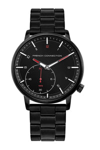 (PREORDER) French Connection Analog Black Dial Men's Watch FC1332BM