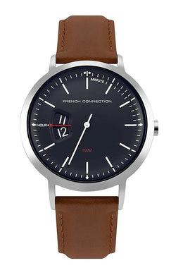 (PREORDER) French Connection Analog Blue Dial Men's Watch FC1330TU