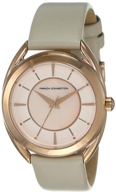 French Connection Analog Rose Gold Dial Women's Watch FCS1000C (Pre Order)
