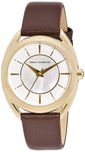 (PREORDER) French Connection Analog White Dial Women's Watch FCS1000T