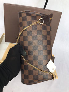 PRELOVED Louis Vuitton Damier Ebene Eva 2 Way Bag