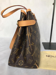 PRELOVED Louis Vuitton Monogram Batignoless Horizontal Shoulder Bag