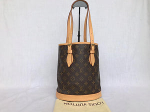 PRELOVED Louis Vuitton Mono Bucket PM Bag