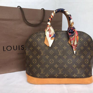 PRELOVED Louis Vuitton Mono Alma Handbag