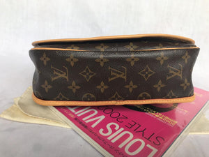 PRELOVED Louis Vuitton Mono Menilmontant PM Crossboy Bag