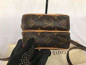 PRELOVED Louis Vuitton Mono Mini Amazon Cross Body Bag