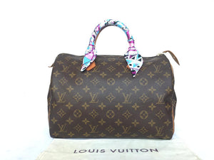 PRELOVED Louis Vuitton Mono Speedy 30 HandBag