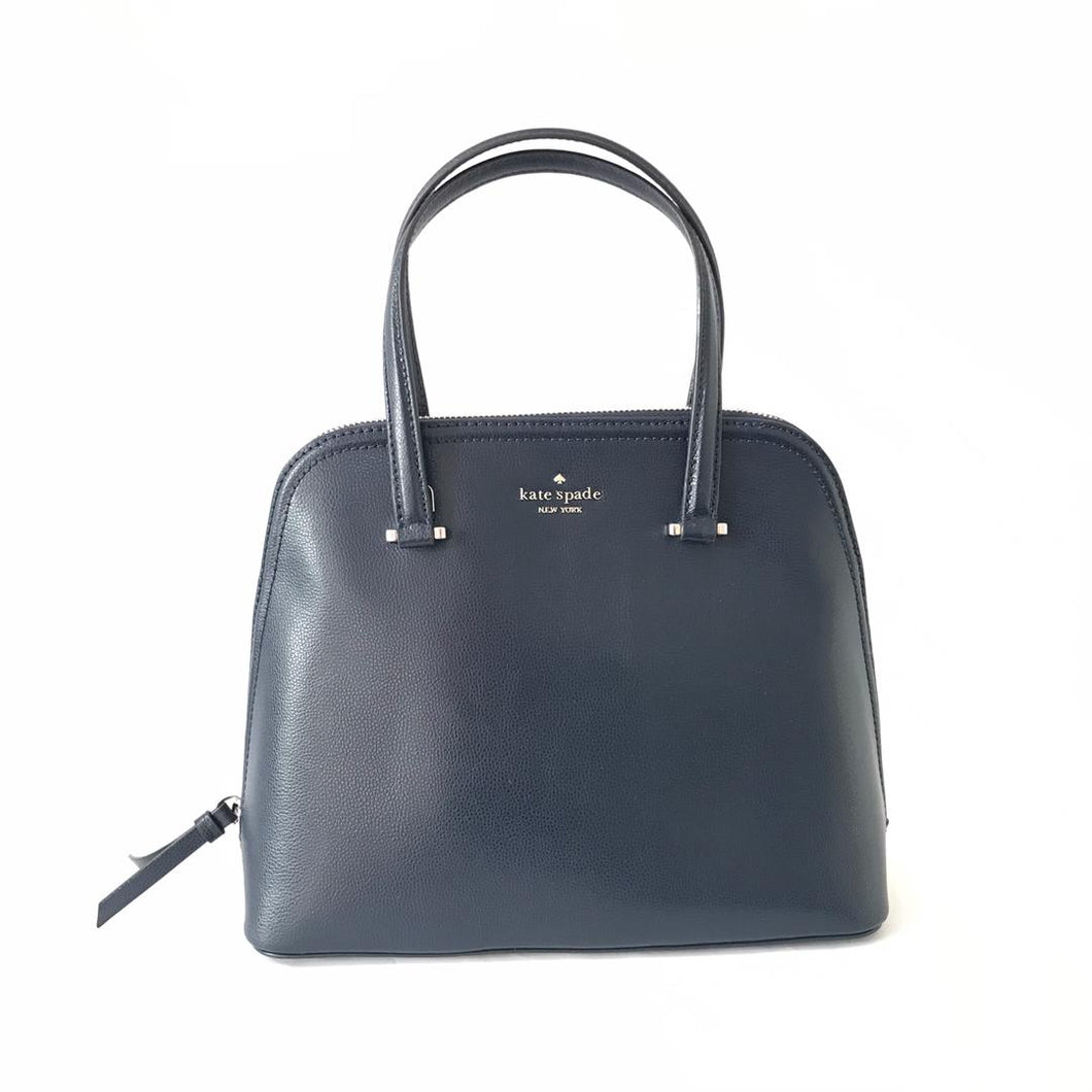 Kate Spade Patterson Drive Medium Dome Satchel WKRU5897 In Prisannavy Bag
