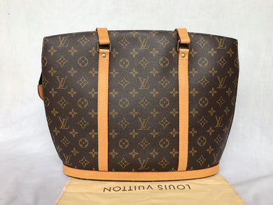 PRELOVED Louis Vuitton Mono BabyLone Tote Bag