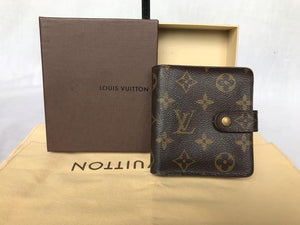 PRELOVED Louis Vuitton Mono Zipper Wallet