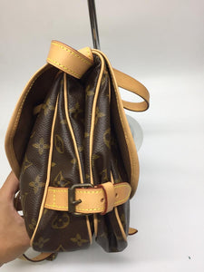 PRELOVED Louis Vuitton Mono Saumur 30 CrossBody Bag