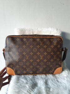 PRELOVED LOUIS VUITTON MONO NILE GM SHOULDER BAG