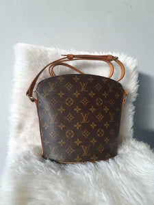 PRELOVED Louis Vuitton Monogram Drouot Shoulder Bag