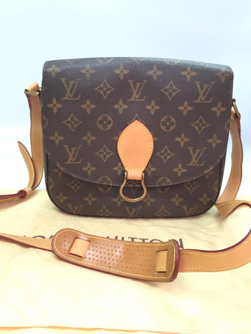 PRELOVED Louis Vuitton Mono Saint Cloud Cross Body Bag