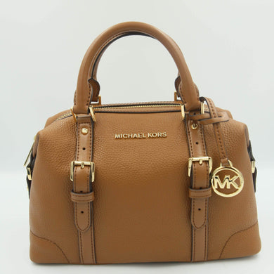 Michael Kors Ginger Small Duffle Satchel 35H9GYJS5L In Luggage