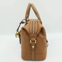 Load image into Gallery viewer, Michael Kors Ginger Small Duffle Satchel 35H9GYJS5L In Luggage