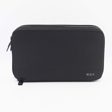 Tumi Horizon SLG Triple ZIp Clutch 0113770DXO In Black